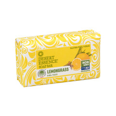 DESERT ESSENCE - LEMONGRASS BAR SOAP - 5OZ - 12/CS