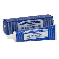 DR. BRONNER'S PEPPERMINT TOOTHPASTE 5 OZ TUBE