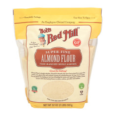 BOB'S RED MILL ALMOND MEAL FLOUR BLANCHED 32 OZ POUCH