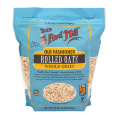 BOB'S RED MILL REGULAR NON-ORGANIC ROLLED OATS 32 OZ POUCH