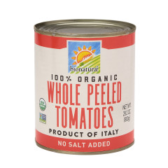 BIONATURAE ORGANIC WHOLE PEELED TOMATOES 28.2 OZ CAN