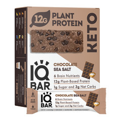 IQ BAR CHOCOLATE SEA SALT 1.6 OZ
