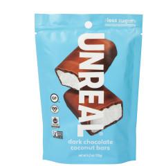 UNREAL - POUCH - DARK CHOCOLATE COCONUT BARS - 4.2OZ