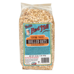 BOB'S RED MILL ORGANIC EXTRA THICK ROLLED OATS 16 OZ BAG