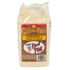 BOB'S RED MILL GLUTEN FREE GARBANZO & FAVA FLOUR 22 OZ BAG