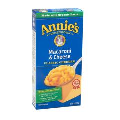ANNIE'S MILD CHEDDAR MAC & CHEESE 6 OZ BOX