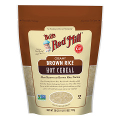 BOB'S RED CREAMY BROWN RICE HOT CEREAL 26 OZ POUCH