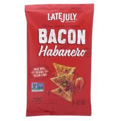 LATE JULY CLASICO TORTILLA BACON HABANERO 5.5 OZ BAG