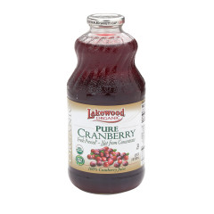 LAKEWOOD ORGANIC JUICES - ORG CRANBERRY BLEND - 32OZ