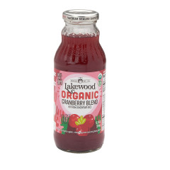 LAKEWOOD ORGANIC JUICES - CRANBERRY BLEND - 12.5OZ