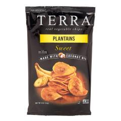 TERRA CHIPS SWEET PLANTAIN CHIPS 6 OZ BAG