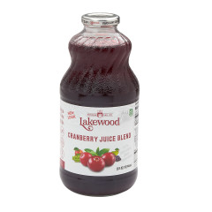 LAKEWOOD ORGANIC JUICES - CRANBERRY BLEND JCE - 32OZ