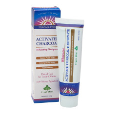 HERITAGE STORE ACTIVE CHARCOAL MINT TOOTHPASTE 5.1 OZ TUBE