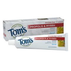 TOM'S - FENNL ANTPLQ PASTE W/PRPOLIS&MYRR - 5.5OZ