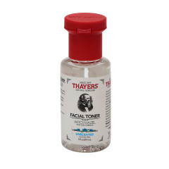 THAYER'S-TRIAL SIZE UNSCENTED FREE WITCH HAZEL FACIAL TONER WITH ALOE  3 OZ BOTTLE