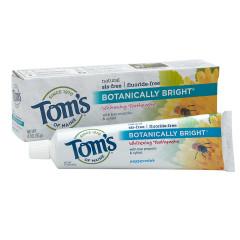 TOM'S - TOOTHPASTE - PEPPRMNT SLS FREE WHTG - 4.7OZ