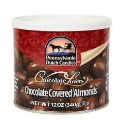 PDC MILK CHOCOLATE ALMONDS 12 OZ CAN