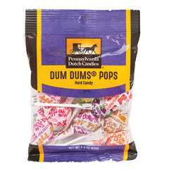 PDC CLEAR WINDOW BAG DUM DUMS PEG PAG 2.3 OZ