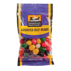 PDC CLEAR WINDOW BAG JELLY BEANS PEG BAG 5.25 OZ