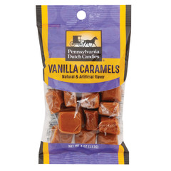 PDC CLEAR WINDOW BAG VANILLA CARAMEL PEG BAG 4 OZ