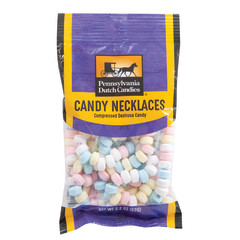 PDC CLEAR WINDOW BAG CANDY NECKLACE PEG BAG 2 OZ