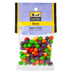 PDC CLEAR WINDOW BAG RUNTS PEG BAG 4.5 OZ