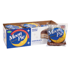 MOON PIE - DOUBLE DECKER - CHOCOLATE