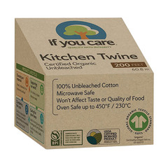 IF YOU CARE - CERT ORG UNBL KITCHEN TWINE - 200FT