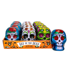 DAY OF THE DEAD - TIN - SMARTIES - .6OZ