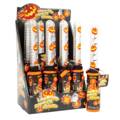 HALLOWEEN LIGHT UP WAND WITH CANDY 0.53 OZ