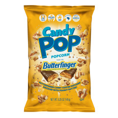 CANDY POP BUTTERFINGER POPCORN 5.25 OZ BAG