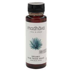 MADHAVA ORGANIC RAW AGAVE NECTAR 11.75 OZ BOTTLE