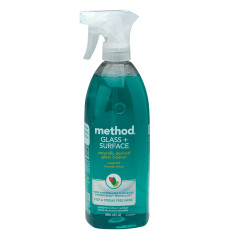 METHOD WATERFALL GLASS SURFACE CLEANER 28 OZ SPRAY BOTTLE