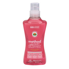 METHOD 4X LANDRY DETERGENT SPRAY GUARD 66 LOAD 53.5 OZ BOTTLE