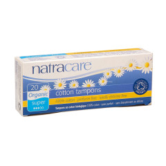 NATRACARE - ORG SPROUT TAMPONS N/A STYLE - 20PCS