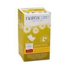 NATRACARE - PANTY LINERS - NRMAL WRAPPD - 18PCS