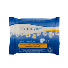NATRACARE ORGANIC INTIMATE WIPES POUCH