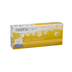 NATRACARE ULTRA THIN ORGANIC COTTON PANTY LINERS BOX