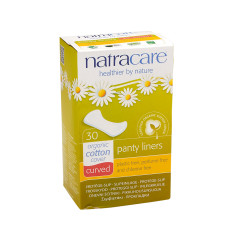 NATRACARE - CURVED PANTY LINERS - 30PCS