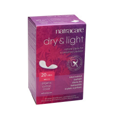 NATRACARE DRY & LIGHT INCONTINENCE SLIM PAD BOX