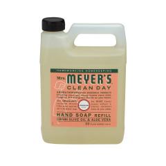 MRS. MEYER'S GERANUM LIQUID HAND SOAP REFILL 33 OZ JUG