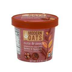 MODERN OATS NUTS & SEEDS 2.3 OZ TUB