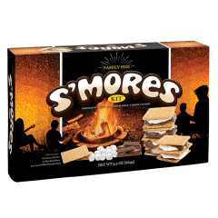 AMUSEMINTS FAMILY SIZE S'MORES KIT 9.5 OZ