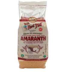 BOB'S RED MILL ORGANIC WHOLE GRAIN AMARANTH 24 OZ POUCH