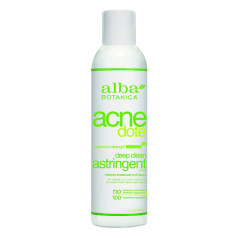 ALBA BOTANICA ACNEDOTE DEEP CLEAN ASTRINGENT 6 OZ BOTTLE