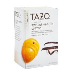 TAZO TEA APRICOT VANILLA CREME WHITE TEA 20 CT BOX