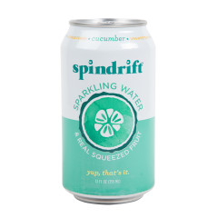 SPINDRIFT BEVERAGE CUCUMBER SPARKLING WATER 12 OZ CAN