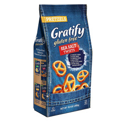 GRATIFY GLUTEN FREE PRETZEL TWISTS 10.5 OZ POUCH