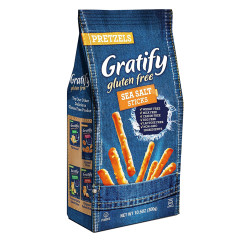 GRATIFY GLUTEN FREE PRETZEL STICKS 10.5 OZ BAG
