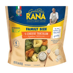 RANA CHEESE TRICOLOR TORTELLONI 20 OZ POUCH